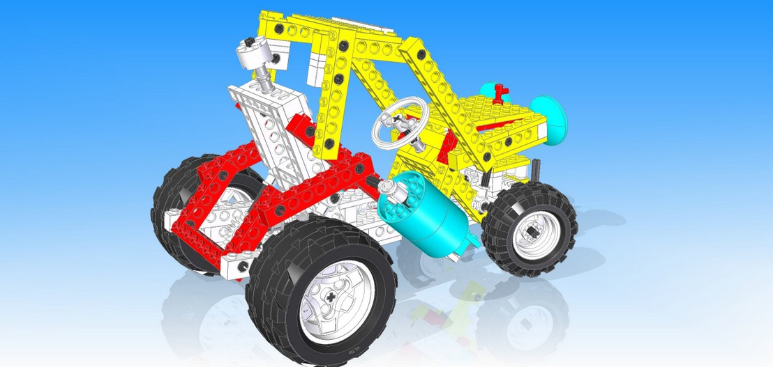 Virtual Lego® Technic Model - vLTm 8849-2